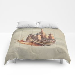 The Snail's Daydream Comforters