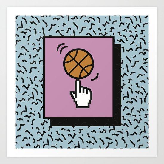Ball Tricks Art Print