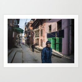 Patan Pierce Art Print