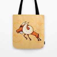aries Tote Bags featuring Aries by Giuseppe Lentini
