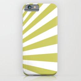 Gold Sunburst iPhone Case