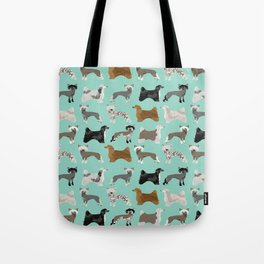 Chinese Crested dog breed variety of coats dog breed dog owner must have gifts for dog person Tote Bag