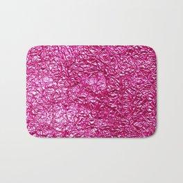 Deep pink crease Bath Mat