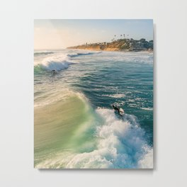 Surf Bros Metal Print