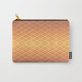 sunset pastel snakeskin Carry-All Pouch
