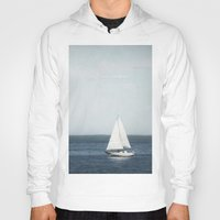 sail Hoodies featuring Set Sail by Pure Nature Photos