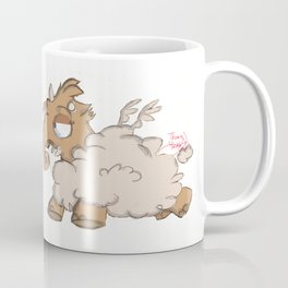 Gabby the  Cloud Creature Coffee Mug