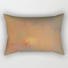 Invitation to Autumn Abstract Painting by Jai Johnson Rectangular Pillow