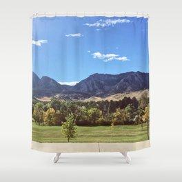 Boulder Shower Curtain