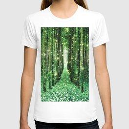 Magical Forest Green Elegance T-shirt
