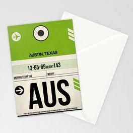 AUS Austin Luggage Tag 1 Stationery Cards