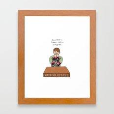 Stefon Framed Art Print
