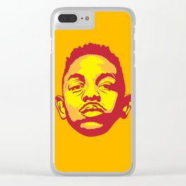 Kendrick Clear iPhone Case