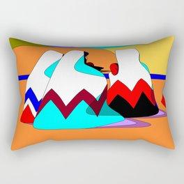 Women of the Dessert in Jewel Tones Rectangular Pillow