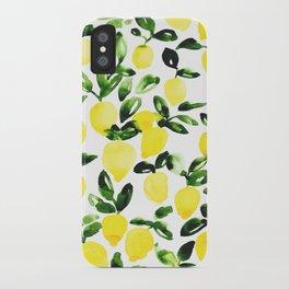 Summer Lemons iPhone Case