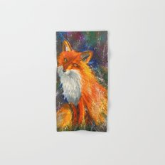 Fox Hand & Bath Towel