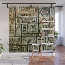Joaquin Torres Garcia Constructive Painting Wall Mural