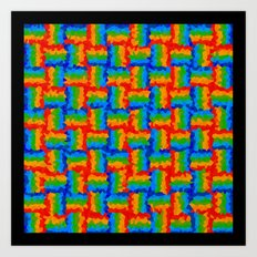 Cristalized Art Print