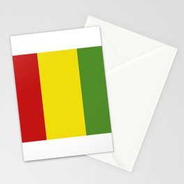 guinea flag Stationery Cards