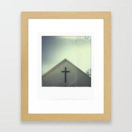 Church + Sky Framed Art Print