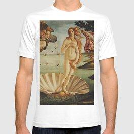 The Birth of Venus by Sandro Botticelli T-shirt