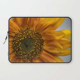 Sunflower in red Laptop Sleeve