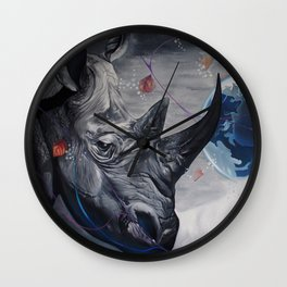 Regards from Eternity. Wall Clock