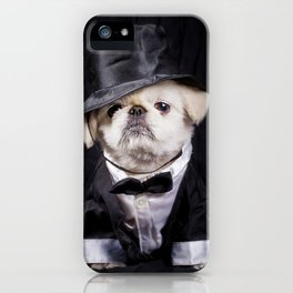 Top Hat, Bow Tie & Tails iPhone Case