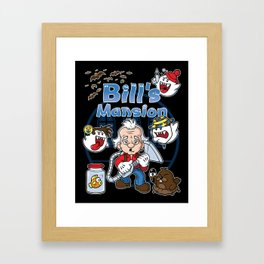 Bill's Mansion Framed Art Print