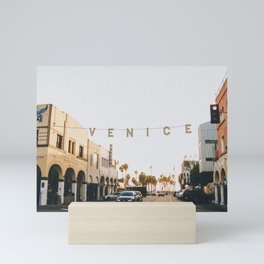 venice / los angeles, california Mini Art Print