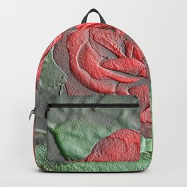 Magical Frozen Roses Backpack