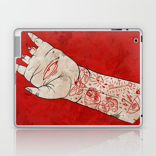 bite the hand. Laptop & iPad Skin