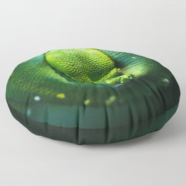 Emerald Tree Boa Floor Pillow