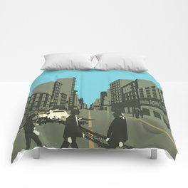Abbey Road Reloaded Comforters