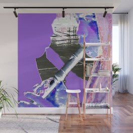 Flute Player Wall Mural
