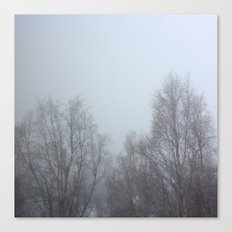 Winter Fog Canvas Print