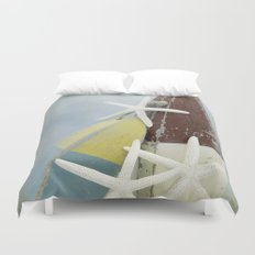 Buoys and Starfish Duvet Cover