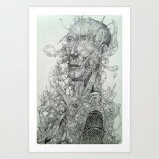 Shapes and Shadows Art Print