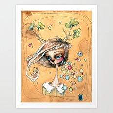 annika Art Print