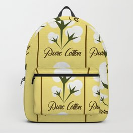 Pure Cotton Backpack