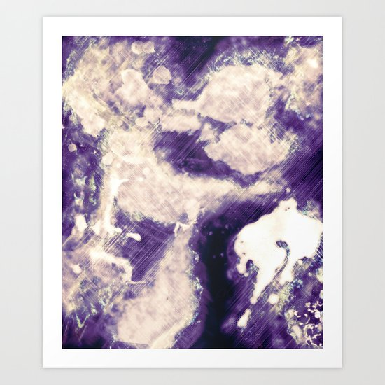 Abstract 45 Art Print