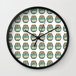 breezy kokeshi Wall Clock