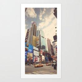 Times Squared ∆ Art Print