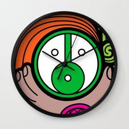 Green Child - Niño Verde Wall Clock