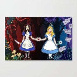 Bound By Wonderland Canvas Print