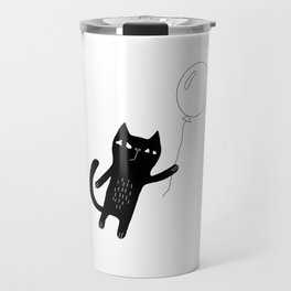 Flying Cat Travel Mug