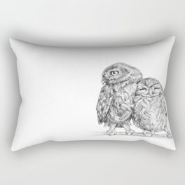 The Little Owl Rectangular Pillow