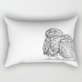 The Little Owl Rectangular Pillow