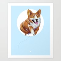 Balloon Dog Art Print