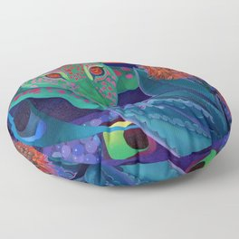 Whispers of the night. Floor Pillow